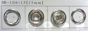 Prong Snap Button, Pearl Button sb-106